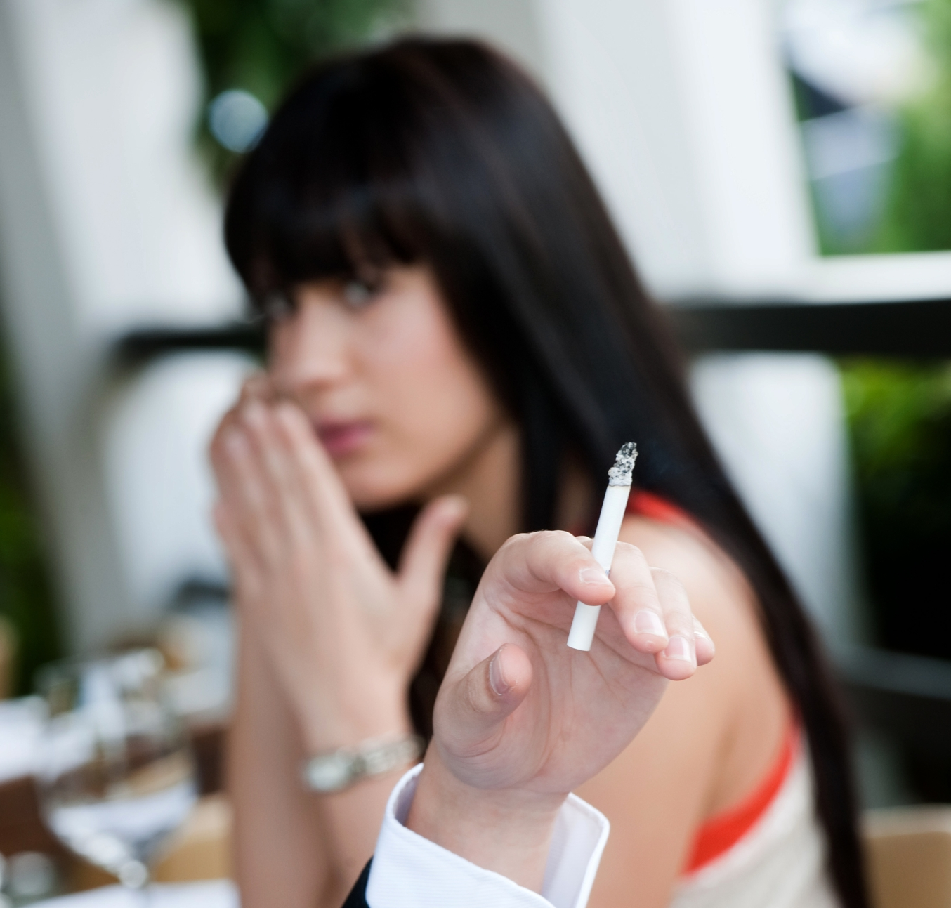 Cigarette smoke sensors