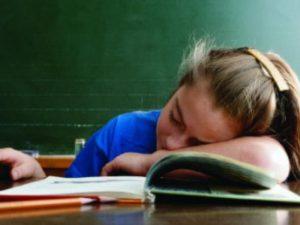Projevy vydýchaného vzduchu - únava, ospalost